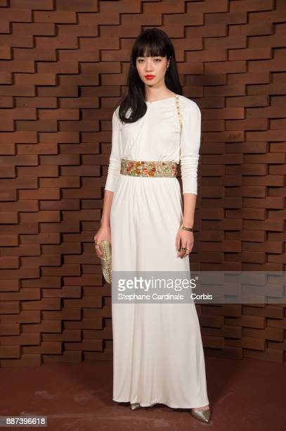 Nana Komatsu attends the Chanel Collection Metiers d'Art Paris Hamburg 2017/18 at The Elbphilharmonie on December 6 2017 in Hamburg Germany