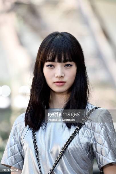 Nana Komatsu attends the Chanel Haute Couture Fall/Winter 2017-2018 show as part of Haute Couture Paris Fashion Week on July 4, 2017 in Paris, France.