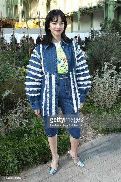Nana Komatsu attends the Chanel Haute Couture Spring/Summer 2020 show as part of Paris Fashion Week on January 21, 2020 in Paris, France.