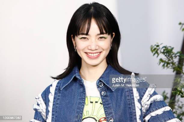 Nana Komatsu attends the Chanel Haute Couture Spring/Summer 2020 show as part of Paris Fashion Week at Grand Palais on January 21, 2020 in Paris,...