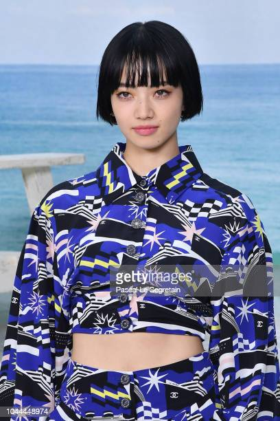 Nana Komatsu attends the Chanel show as part of the Paris Fashion Week Womenswear Spring/Summer 2019 on October 2 2018 in Paris France