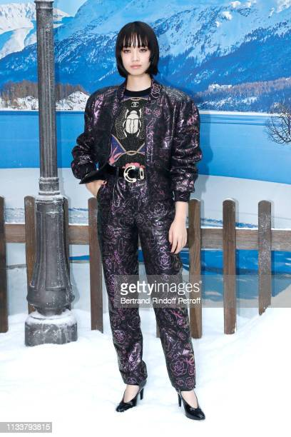 Nana Komatsu attends the Chanel show as part of the Paris Fashion Week Womenswear Fall/Winter 2019/2020 on March 05, 2019 in Paris, France.