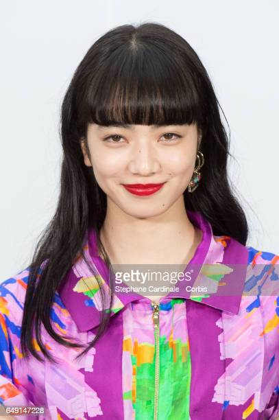 Nana Komatsu attends the Chanel show as part of the Paris Fashion Week Womenswear Fall/Winter 2017/2018 on March 7 2017 in Paris France