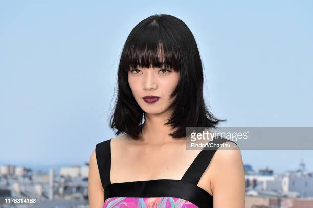 Nana Komatsu attends the Chanel Womenswear Spring/Summer 2020 show as part of Paris Fashion Week on October 01, 2019 in Paris, France.