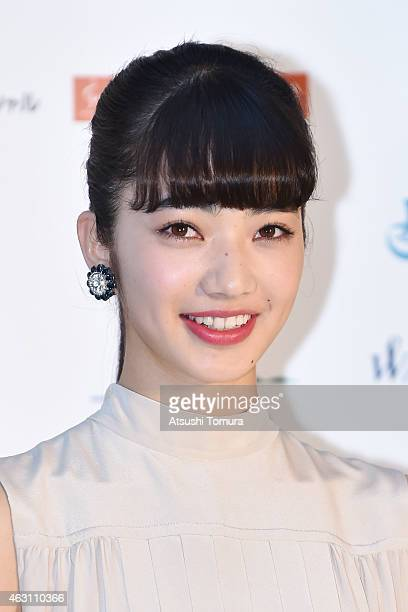 Nana Komatsu attends the Mainichi Film Awards at Muza Kawasaki on February 10 2015 in Kawasaki Japan