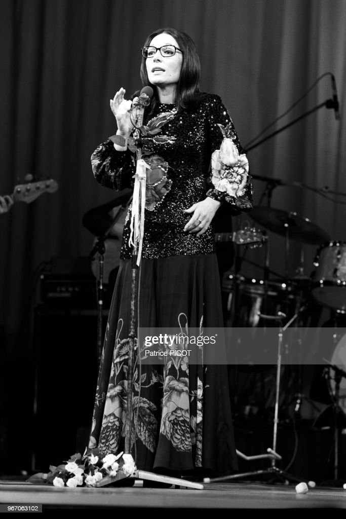 PARIS, OLYMPIA : NANA MOUSKOURI : Photo d'actualité