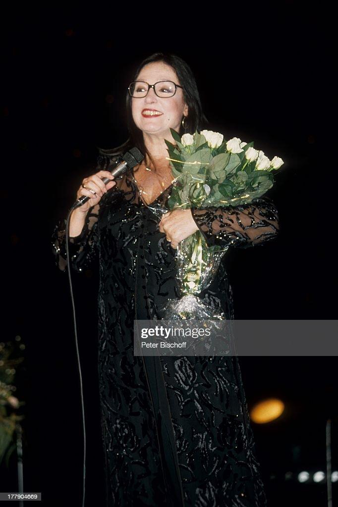Nana Mouskouri, 1. Konzert während Tournee, Augsburg, Bayern, De : Fotografía de noticias
