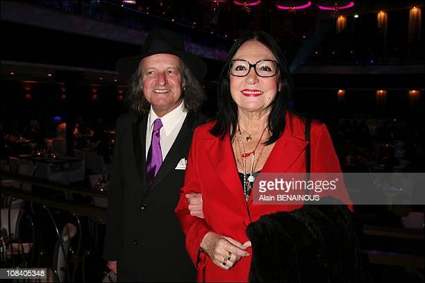 Nana Mouskouri and Andre Chapelle in Paris, France on March 26, 2007.