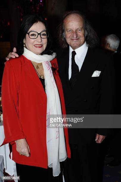 Nana Mouskouri and her husband