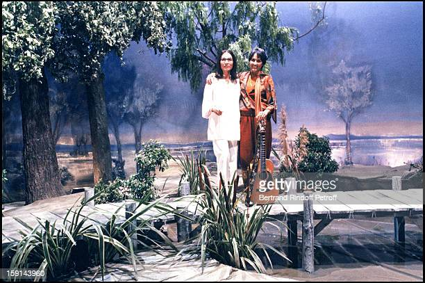 Nana Mouskouri and Joan Baez