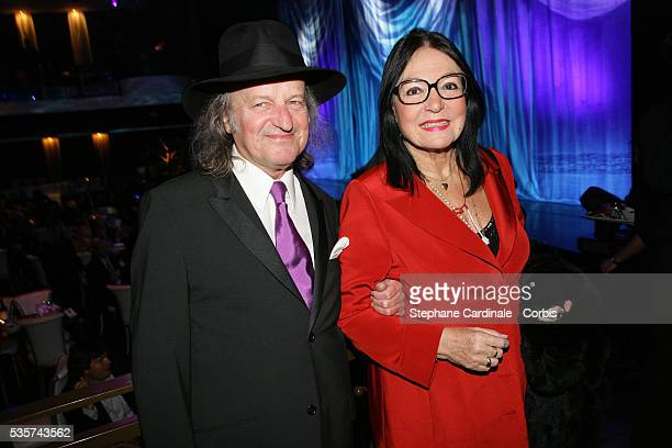 Nana Mouskouri at the reopening of the Bobino Theater