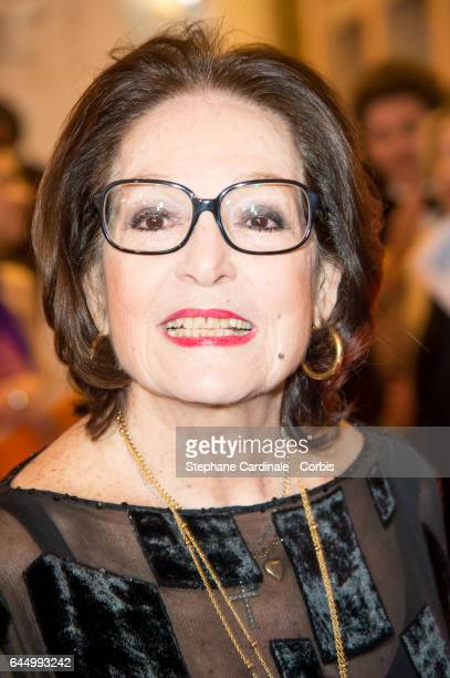Nana Mouskouri attends Cesar Film Awards 2017 at Salle Pleyel on February 24 2017 in Paris France