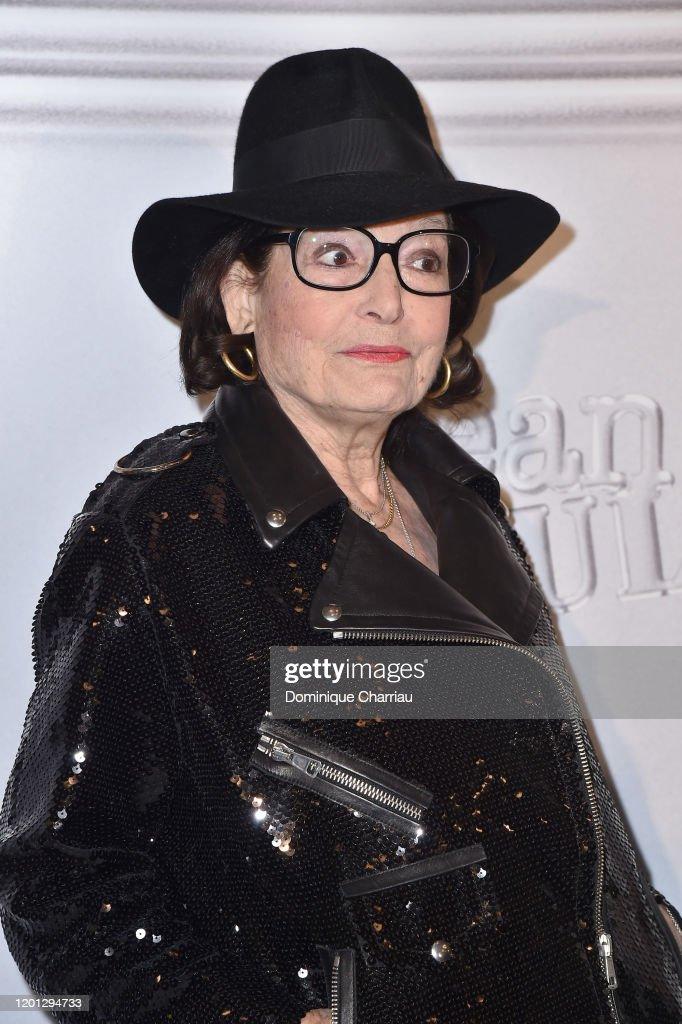 Jean-Paul Gaultier: Photocall - Paris Fashion Week - Haute Couture Spring/Summer 2020 : Photo d'actualité