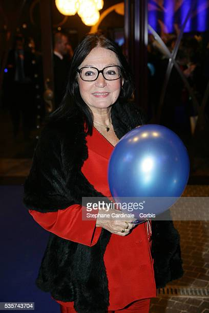 Nana Mouskouri attends the reopening of Bobino theater