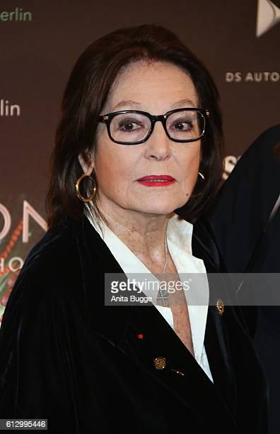 Nana Mouskouri attends the 'THE ONE Grand Show' premiere at FriedrichstadtPalast on October 6 2016 in Berlin Germany