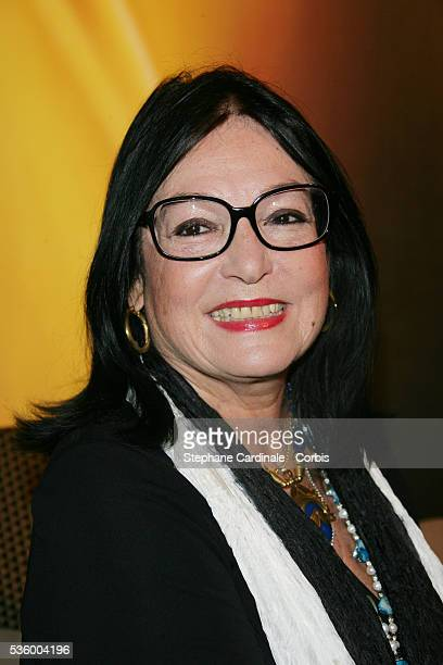 Nana Mouskouri attends the tribute to Claude Chabrol Grand Siecle Laurent Perrier 2006 gala event.
