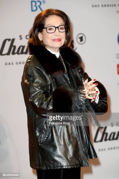 Nana Mouskouri during the 'Schlagerchampions Das grosse Fest der Besten' TV Show at Velodrom on January 13 2018 in Berlin Germany