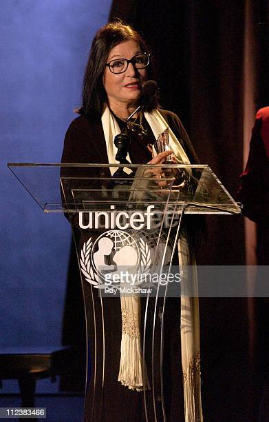 Nana Mouskouri during UNICEF Goodwill Gala Celebrating 50 Years of Celebrity Goodwill Ambassadors - Show at The Beverly Hilton in Beverly Hills,...