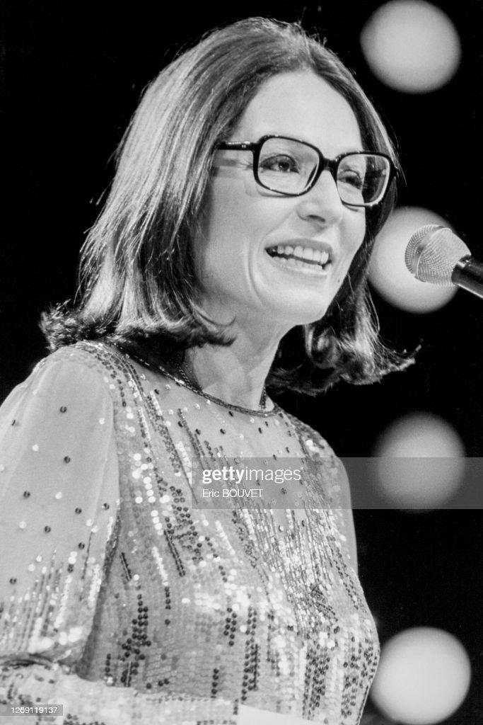 Nana Mouskouri en concert en 1984 : Photo d'actualité
