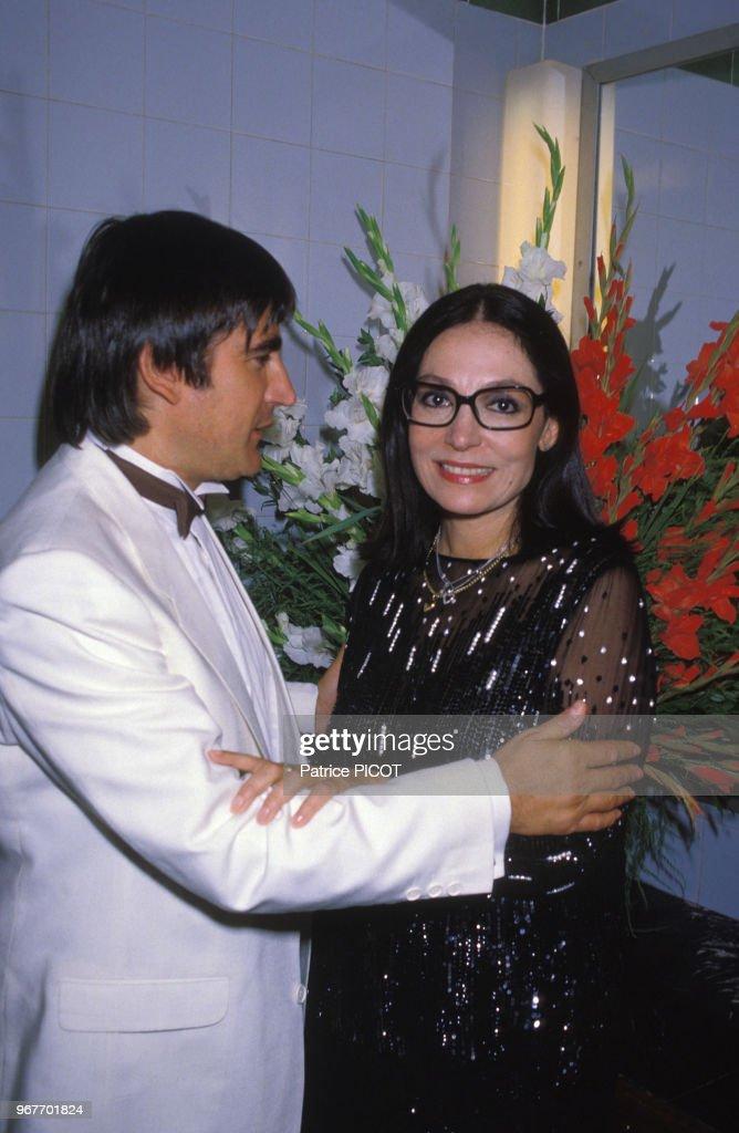 Nana Mouskouri et Serge Lama en 1984 : Photo d'actualité