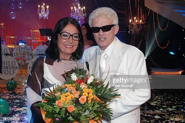 Nana Mouskouri Heino ARDShow Herzlichen Glückwunsch die M I C A E L S C H A N Z E Jubiläumsgala Europapark Rust Silver Star Dome Rust