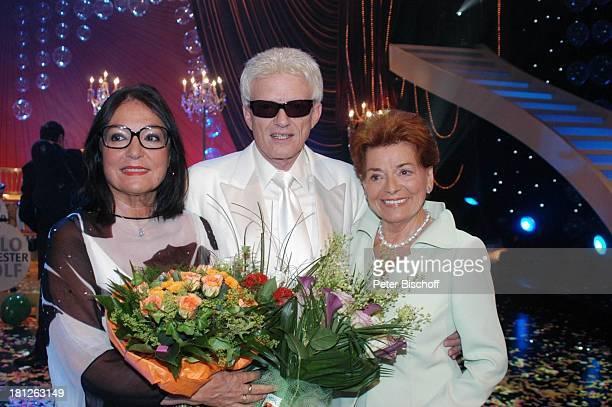 Nana Mouskouri Heino Lys Assia ARDShow 'Herzlichen Glückwunsch die M I C A E L S C H A N Z E Jubiläumsgala' 'Europapark Rust' Silver Star Dome Rust