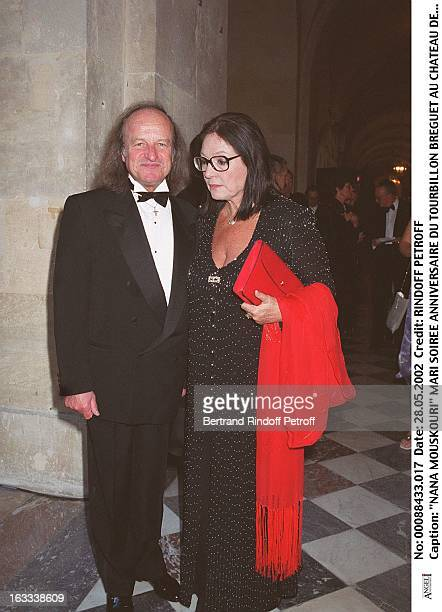 Nana Mouskouri husband anniversary of the Breguet tourbillon at Chateau de Versailles