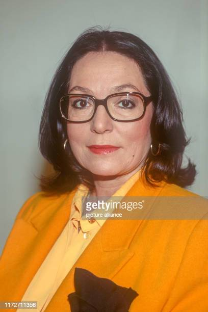 Nana Mouskouri in January 1991The greek singer and politician Nana Mouskouri was born on 13 October 1934   usage worldwide