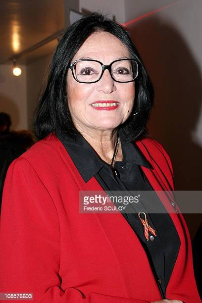 Nana Mouskouri in Paris France on November 15th 2005