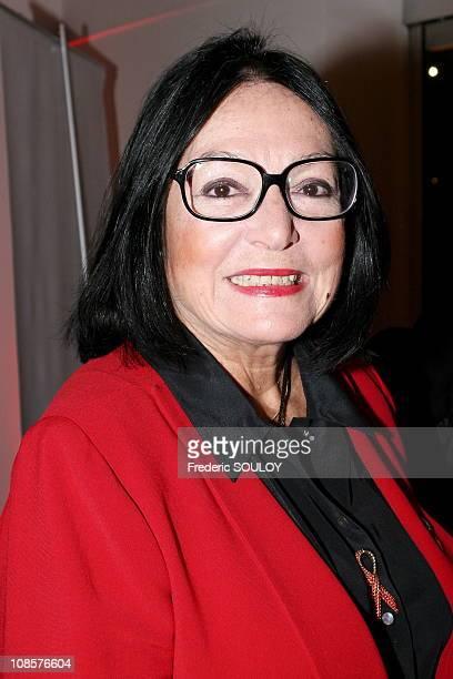Nana Mouskouri in Paris France on November 15th 2005