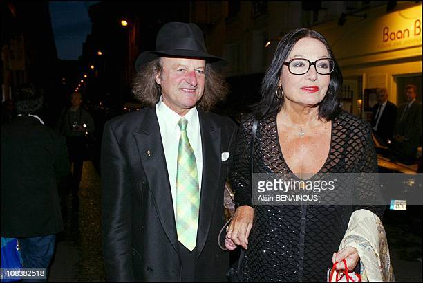Nana Mouskouri in Paris France on September 09 2002