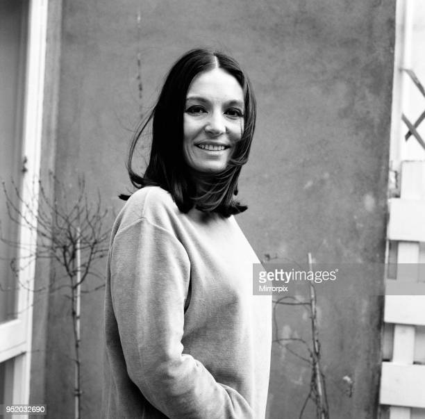 Nana Mouskouri International Singing Star pictured at her Belgravia flat in London 24th February 1970 Pictured for the first time without her trade...