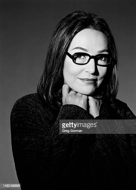 Nana Mouskouri is photographed for Framed For LA Eyeworks on January 1 1982 in Los Angeles California