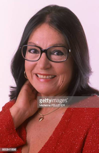 Nana Mouskouri à Paris France circa 1980