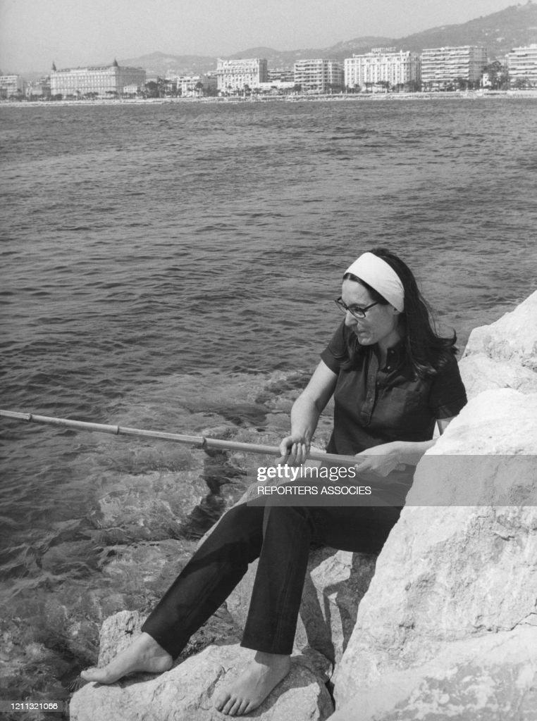 Nana Mouskouri à Cannes : News Photo