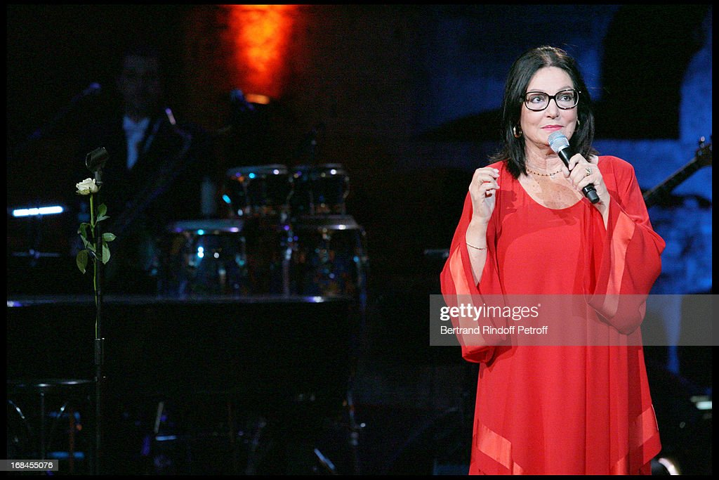 Nana Mouskouri's Farewell Concert At Odeon Herodes Atticus In Athens : ニュース写真