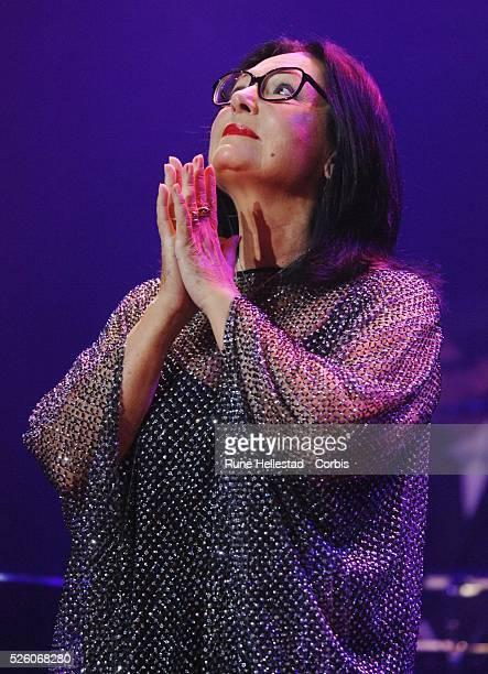 Nana Mouskouri performs at Royal Albert Hall