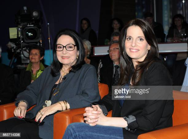 Nana Mouskouri und Tochter Lénou