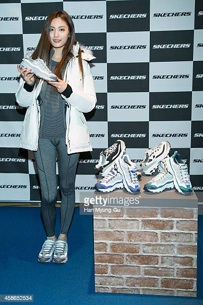 051a6bed6b12 Nana of South Korean girl group After School attends the autograph session  for  Skechers