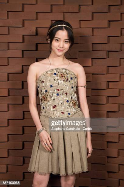Nana OuYang attends the Chanel Collection Metiers d'Art Paris Hamburg 2017/18 at The Elbphilharmonie on December 6 2017 in Hamburg Germany