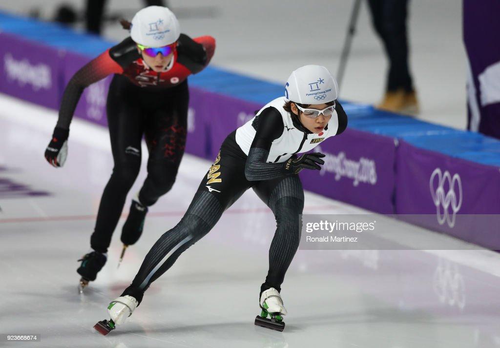 Speed Skating - Winter Olympics Day 15 : News Photo