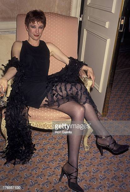 Nana Visitor attends 11th Annual Museum of Television and Radio Awards on February 28 1994 at the Four Seasons Hotel in Beverly Hills California