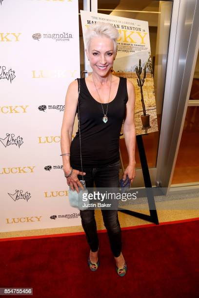 Nana Visitor attends Premiere Of Magnolia Pictures' Lucky at Linwood Dunn Theater on September 26 2017 in Los Angeles California