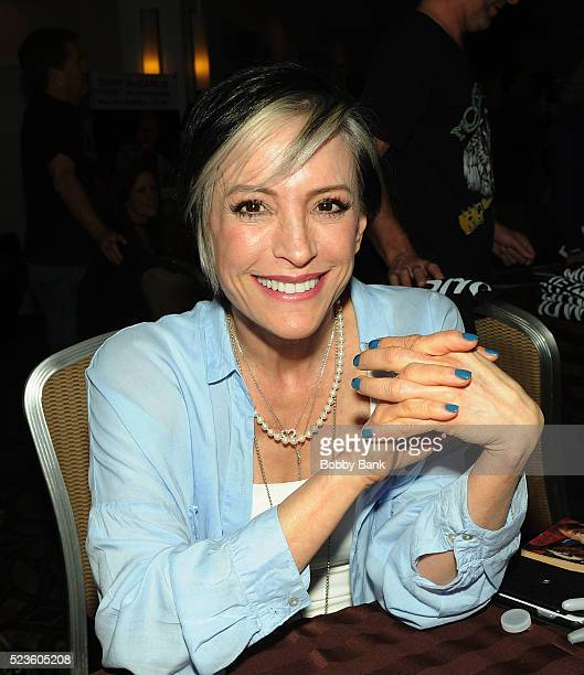 Nana Visitor attends the 2016 Chiller Theater Expo at Parsippany Hilton on April 23 2016 in Parsippany New Jersey