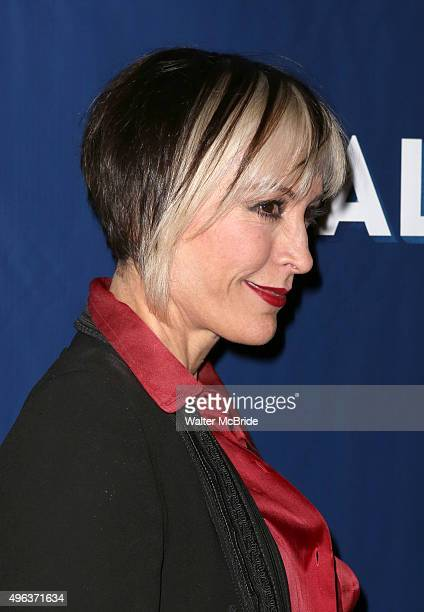 Nana Visitor attends the Broadway Opening Night Performance of 'Allegiance' at the Longacre Theatre on November 8 2015 in New York City