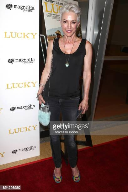 Nana Visitor attends the Premiere Of Magnolia Pictures' Lucky at Linwood Dunn Theater on September 26 2017 in Los Angeles California