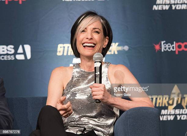 Nana Visitor attends the Star Trek Mission New York at The Jacob K Javits Convention Center on September 2 2016 in New York City