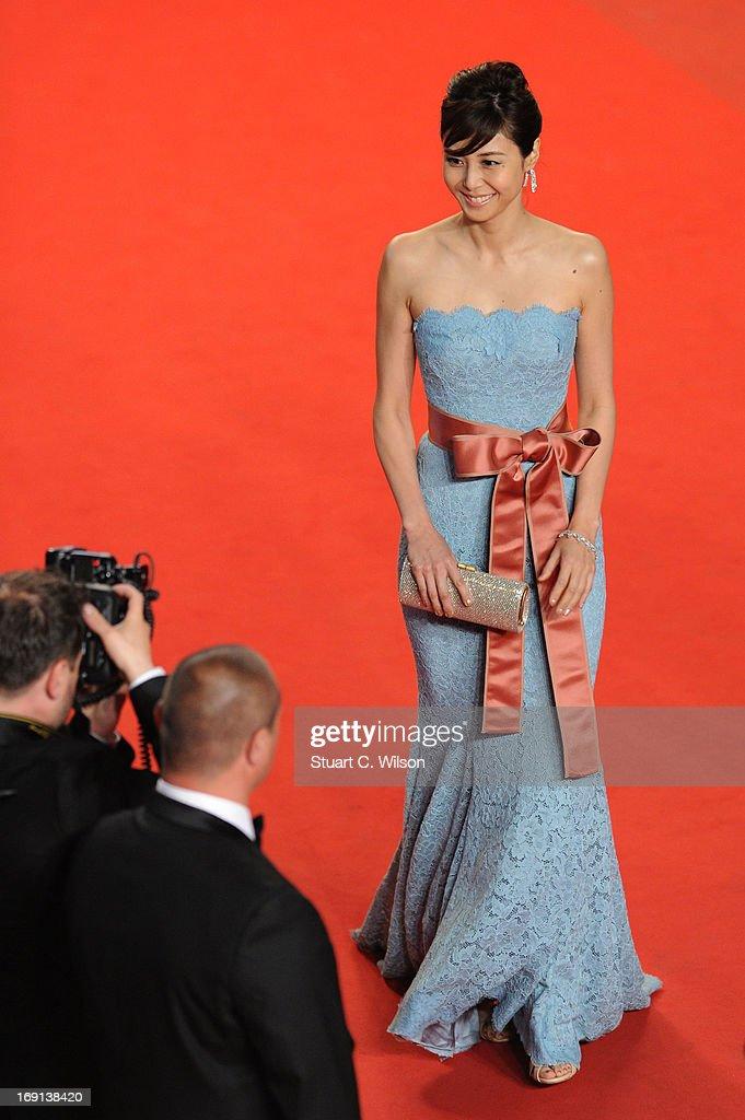 'Wara No Tate' Premiere - The 66th Annual Cannes Film Festival : News Photo