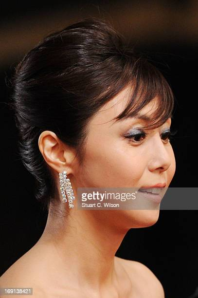 Nanako Matsushima attends the 'Wara No Tate' Premiere during the 66th Annual Cannes Film Festival at the Palais des Festivals on May 20 2013 in...