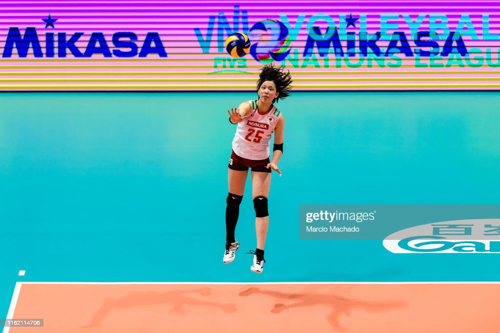 Italy v Japan - FIVB Women's Nations League : ニュース写真